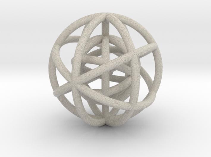 V EQUILIBRIUM (figurine) 3d printed
