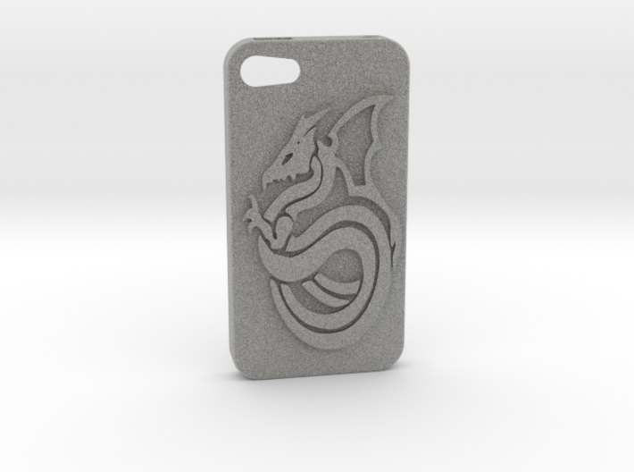 Iphone 4 Case - Dragon 3d printed