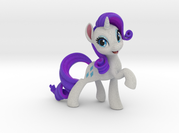My Little Pony - Rarity (4.5in Tall) 3d printed