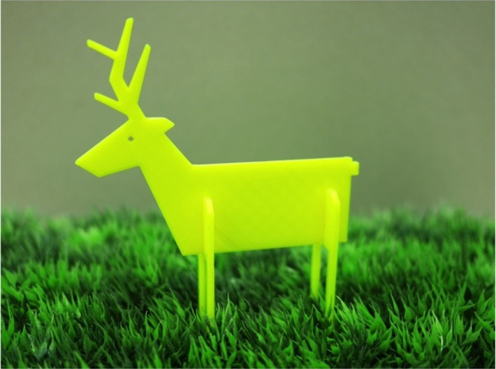 Animal_Deer 3d printed