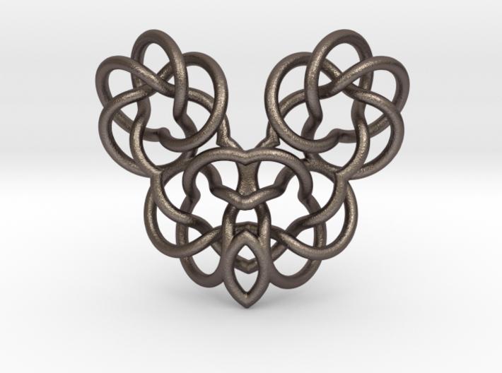 Heart/Skull 3d printed