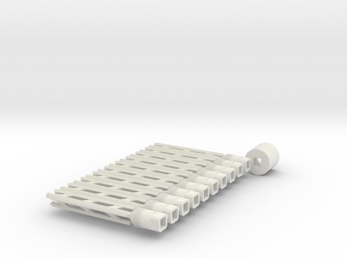 Groove Cutter rev. 2 (10+anti-rotation jig) 3d printed