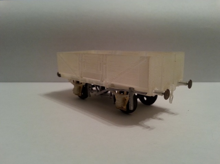 OO scale LMS  13 Ton high sided goods wagon 3d printed W irons, wheels available from the trade