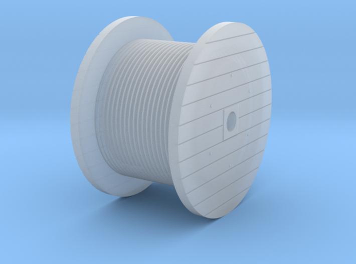 N Scale Cable Reel (Full) 3d printed