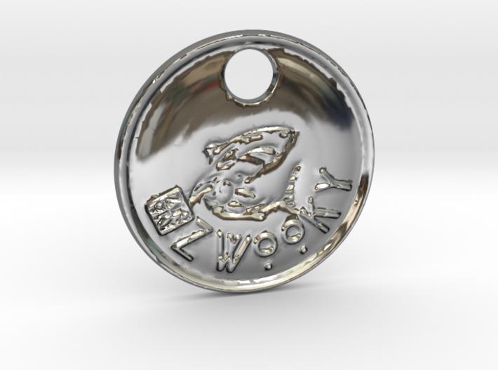 ZWOOKY Style 96 Sample - keychain shark 3d printed