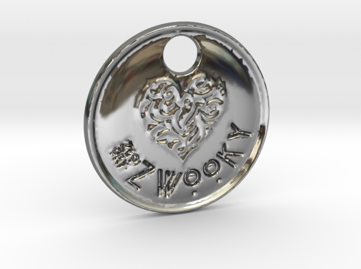 ZWOOKY Style 92 Sample - keychain heart 3d printed