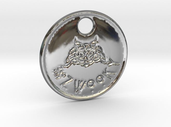 ZWOOKY Style 79 Sample - keychain cat 3d printed ZWOOKY