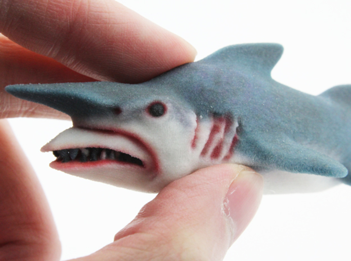 Goblin Shark  3d printed