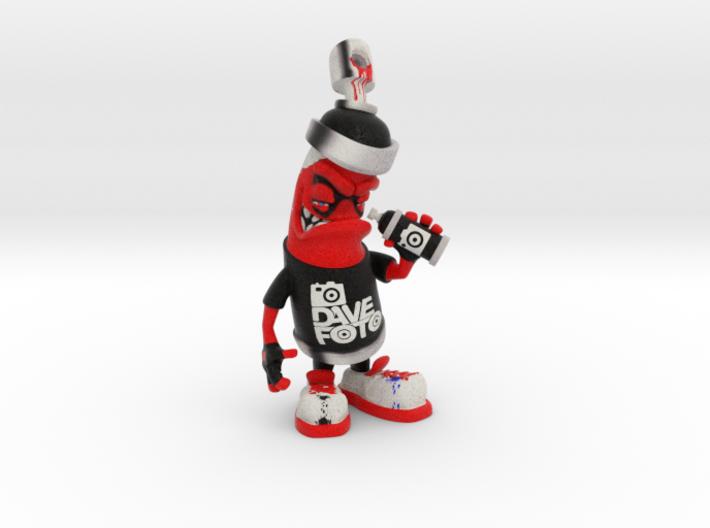 DaveFoto Custom Made Spray Can 3d printed