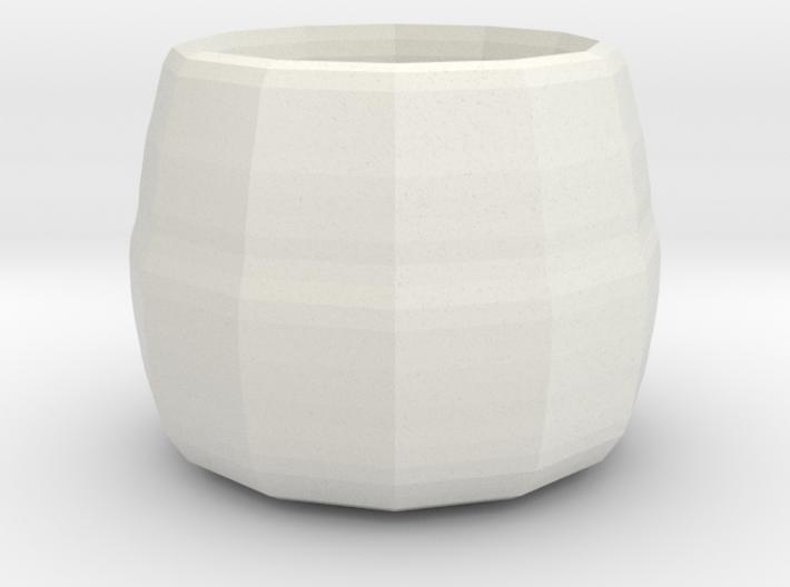 small plant pot 3d printed
