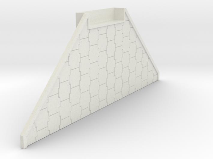 "N Scale Bridge Abutment ""Terre Armee"" 3d printed"
