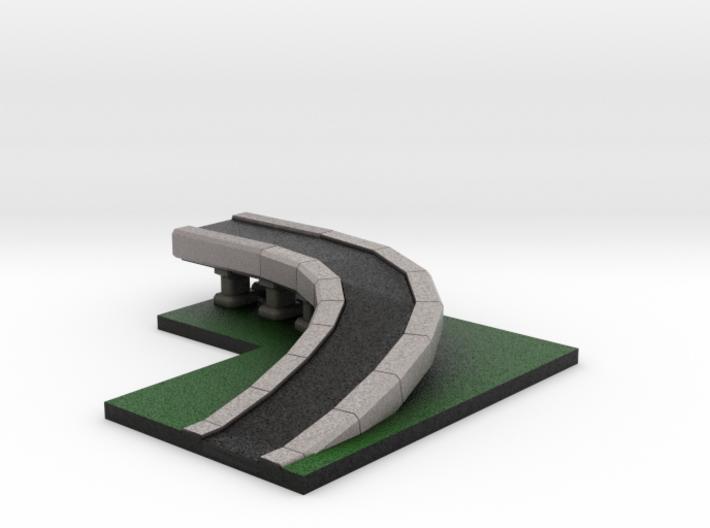 5 x 4 Highway Ramp 3d printed