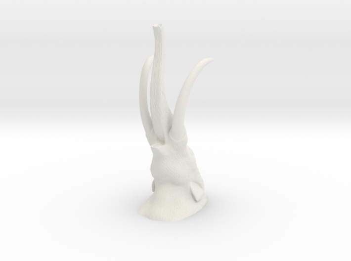 American Mastodon Head 1 32 (MEST 2015) 3d printed