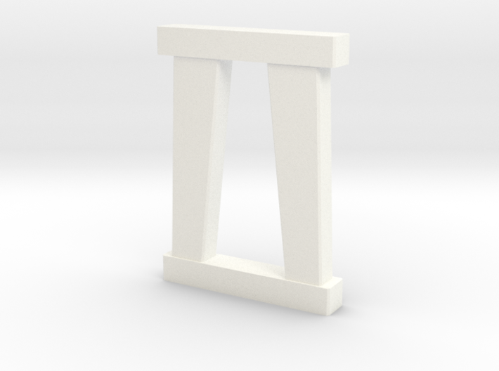N Scale Bridge Pier #3 3d printed