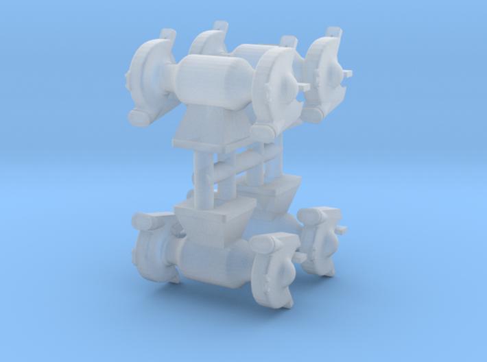 1/64 Bench Grinder 3d printed