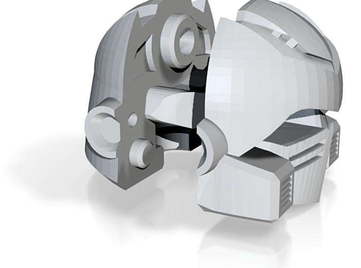 Larger Ironfist Head 3d printed
