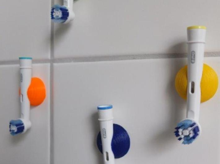 Electric Toothbrush Holder 3d printed color your bathroom ...
