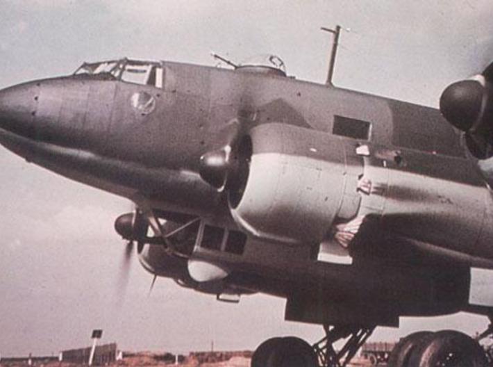 Focke Wulf Fw 200 NoseCOne Replica 1/10 Scale 3d printed