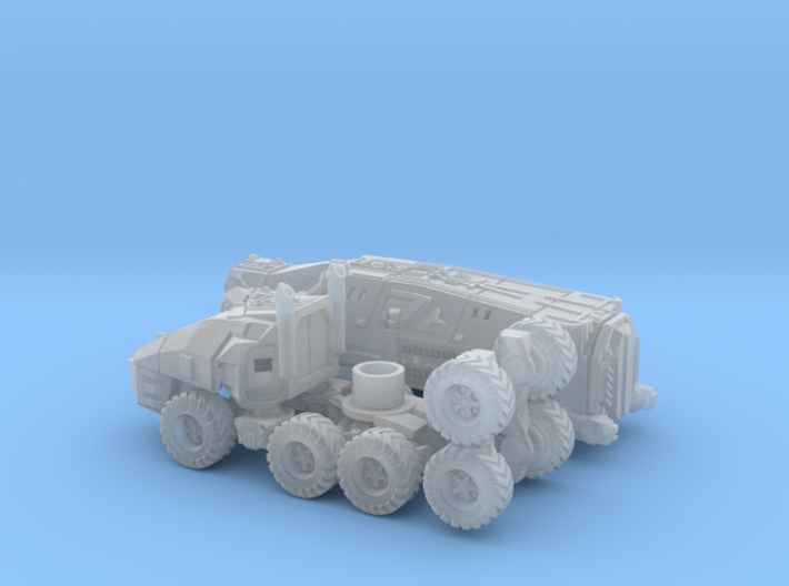 Command Trailer and Tractor 1/160 N Scale 3d printed
