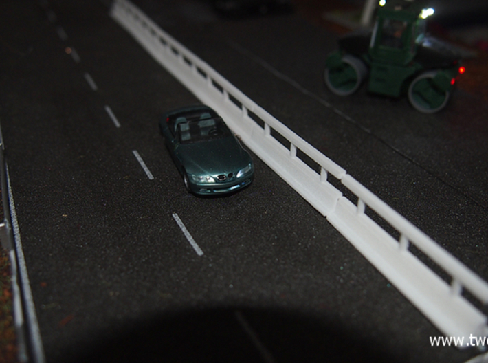 [6st] Vario guard barrier 1:87 (H0) 3d printed