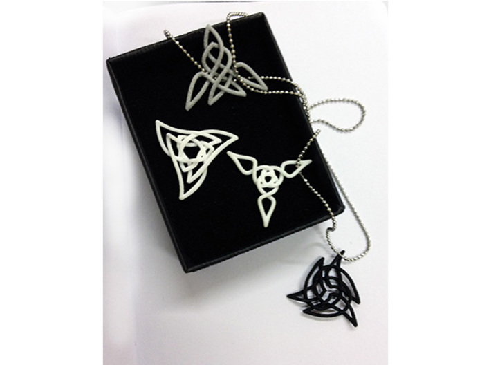 Triquetra Pendant 2 3d printed Check out the other pendants in this collection