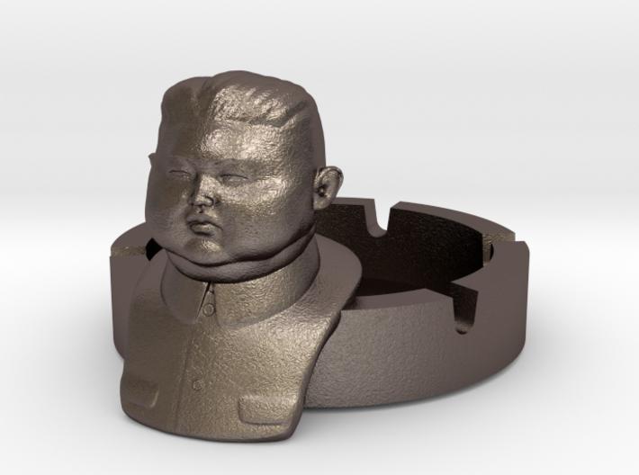 Kim Jong Ashtray Ver. 2 3d printed