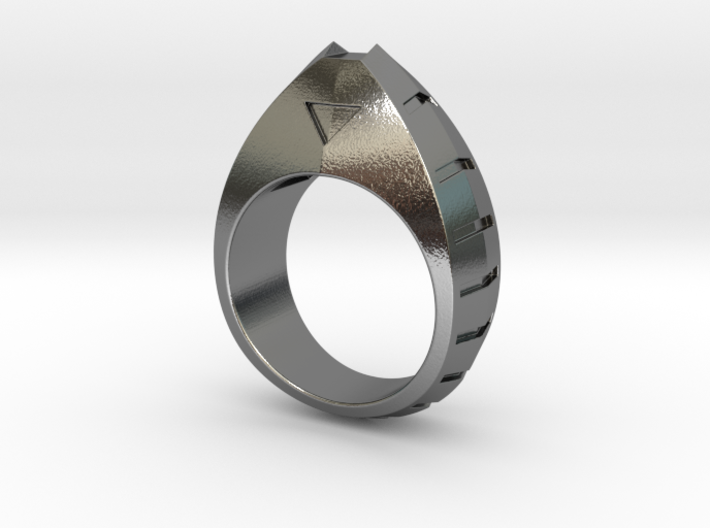 Fat Cat Ring - Size 8 (18.14 mm) 3d printed