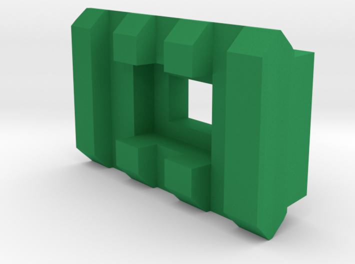 3 Slots Rail (Pre-Drilled) 3d printed