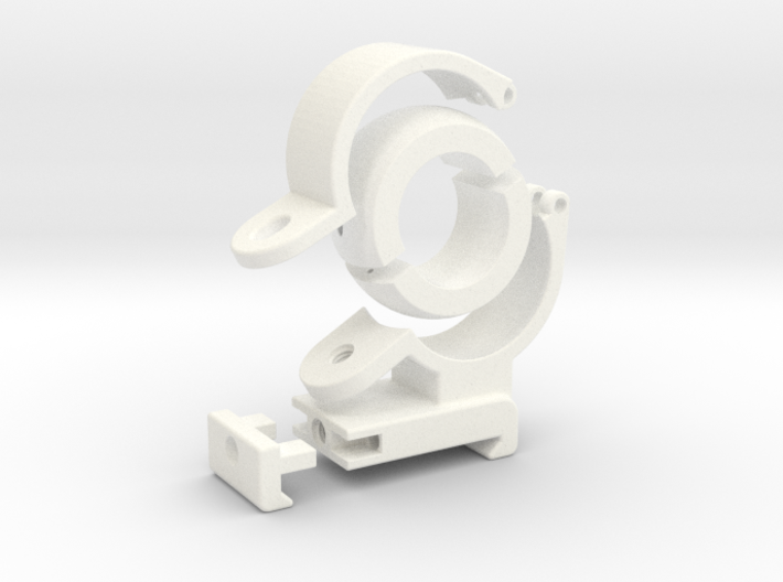 "Spherical Bearing Riflescope Mount with 1"" Ring 3d printed"
