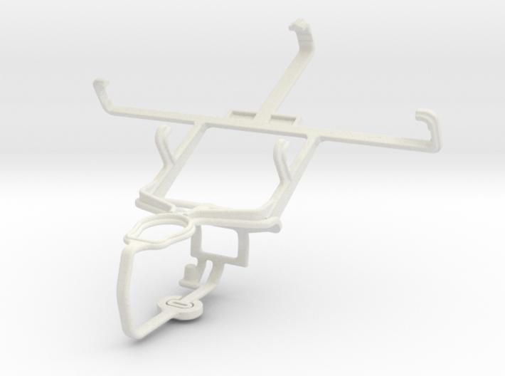 Controller mount for PS3 & Gigabyte GSmart Rio R1 3d printed