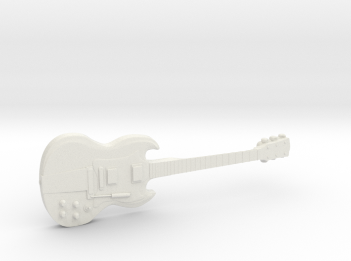 Gibson SG AC/DC Angus Young 3d printed