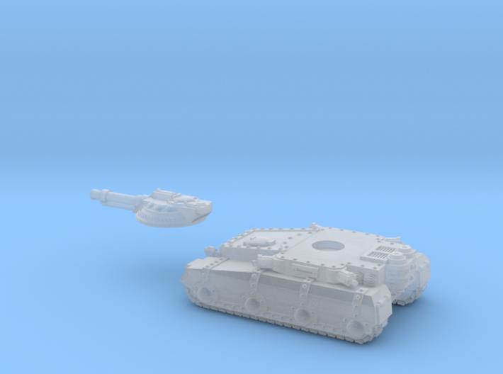 Irontanklightgunbooleaned 3d printed