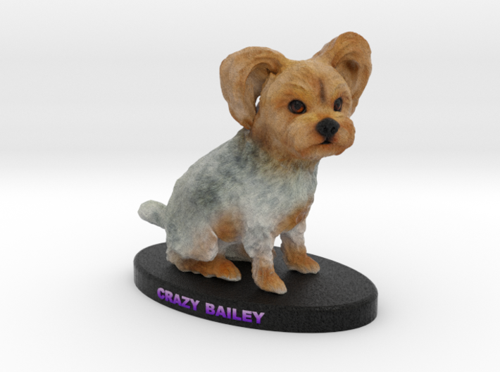 Custom Dog Figurine - Bailey 3d printed