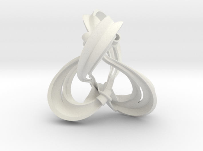 Figure 8 knot complement triangulation 3d printed