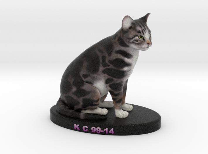 Custom Cat Figurine - KC Corman 3d printed