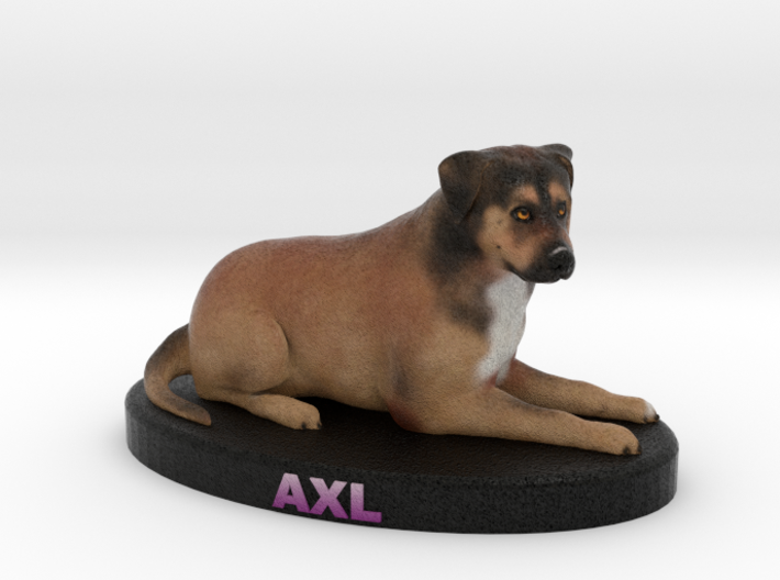 Custom Dog Figurine - Axl 3d printed