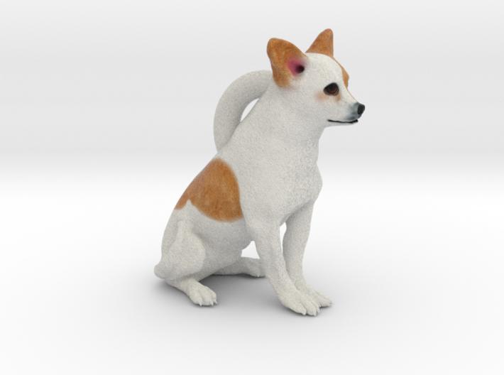 Custom Dog Earrings - Burrito 3d printed