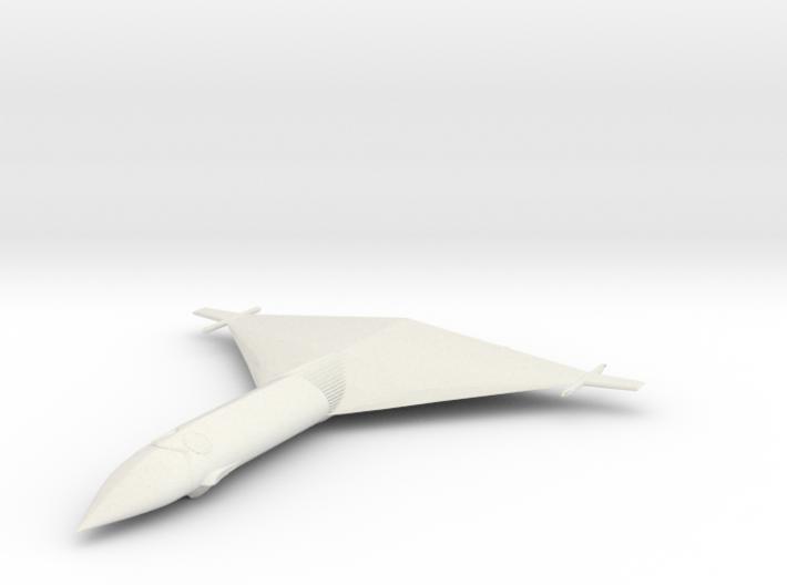 1/300 Aerospace plane  3d printed
