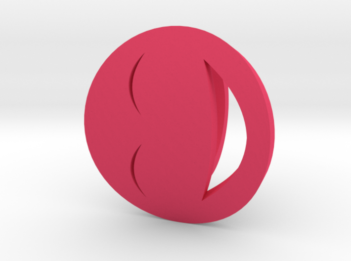 Smile/Laughing Ring Size 4, 14.9 mm 3d printed