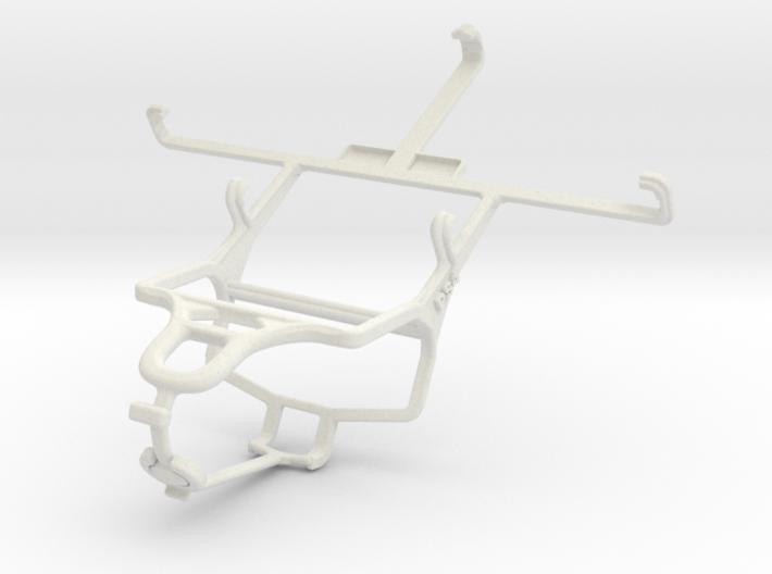 Controller mount for PS4 & Karbonn Titanium S5 Plu 3d printed