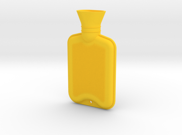Hot Water Bottle Large 3d printed