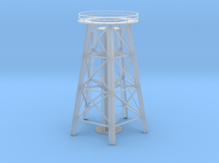 Water Tower City Base 3d printed