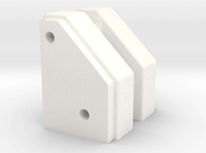 NIX63371 - NIX10M nose tube mounts 3d printed