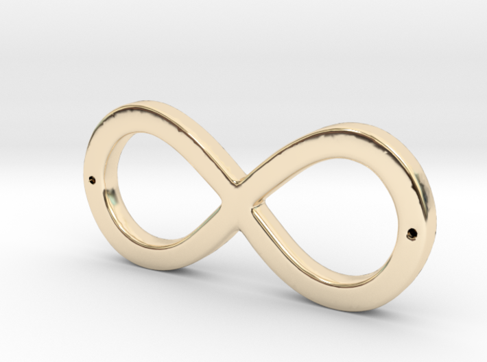 Infinity Sign 3d printed