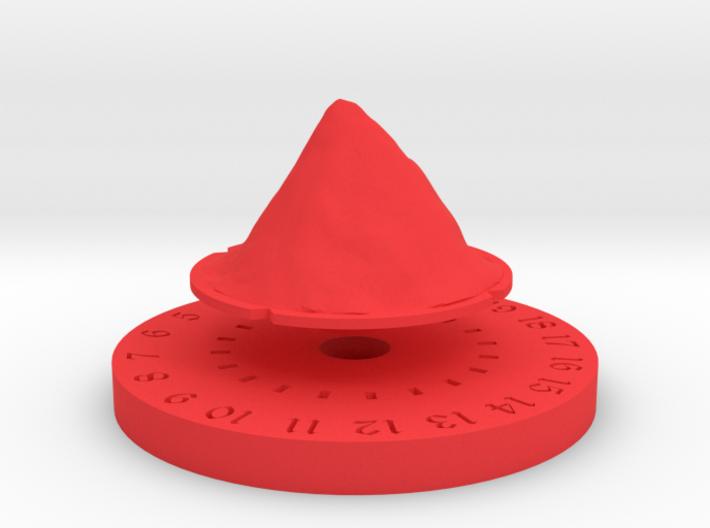 Life Counter - Mountain 3d printed