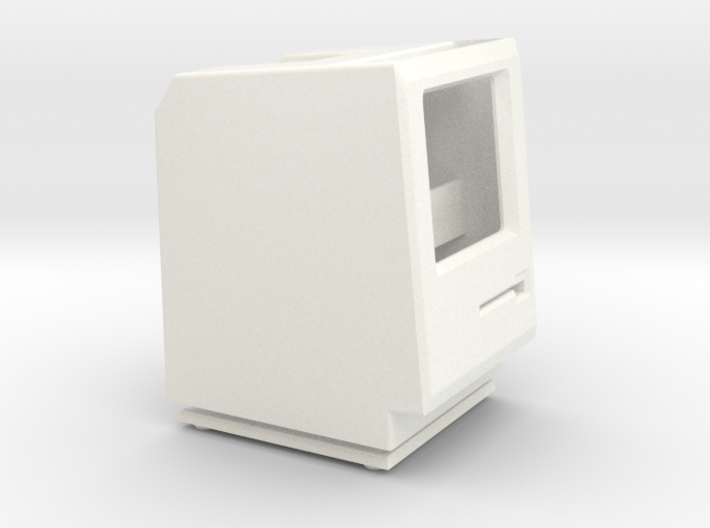 Macintosh 128k/512k/Plus iPod Nano dock 3d printed