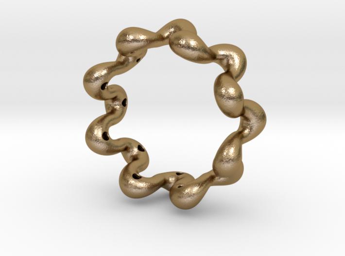 Wavy bracelet 75 3d printed