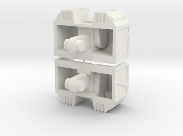 Cufflinx Rev1 3d printed