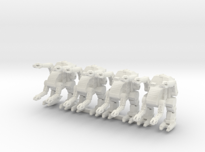 Labor Walker Platoon 6mm 3d printed