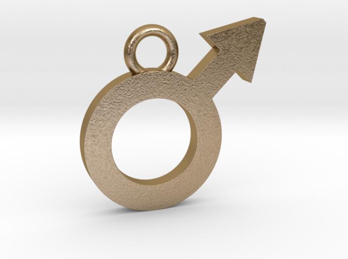 Male Pendant 3d printed